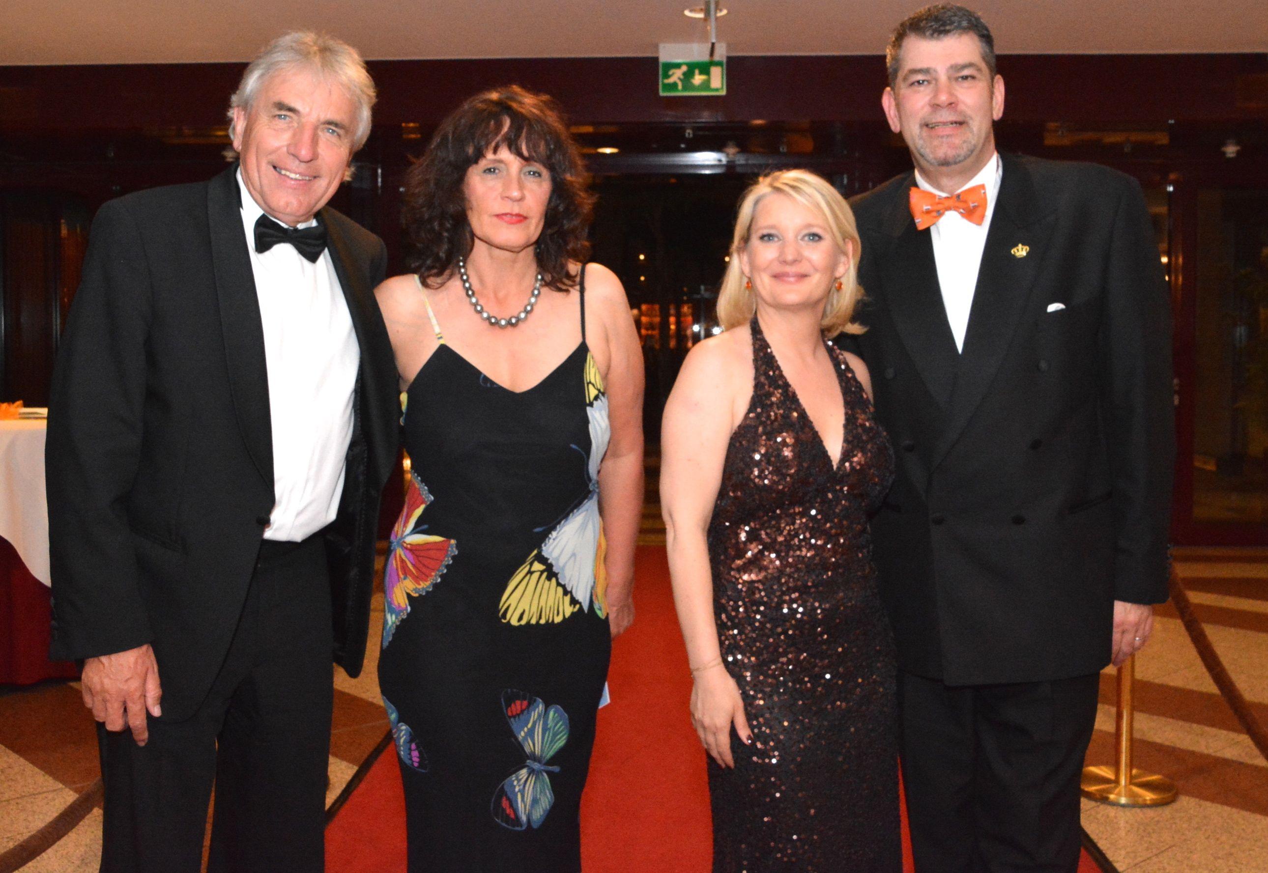 OB Jürgen Roters mit Gemahlin Angela,  Anouk Susan (Deutschlanddirektorin des NBTC) und Jean Möhring