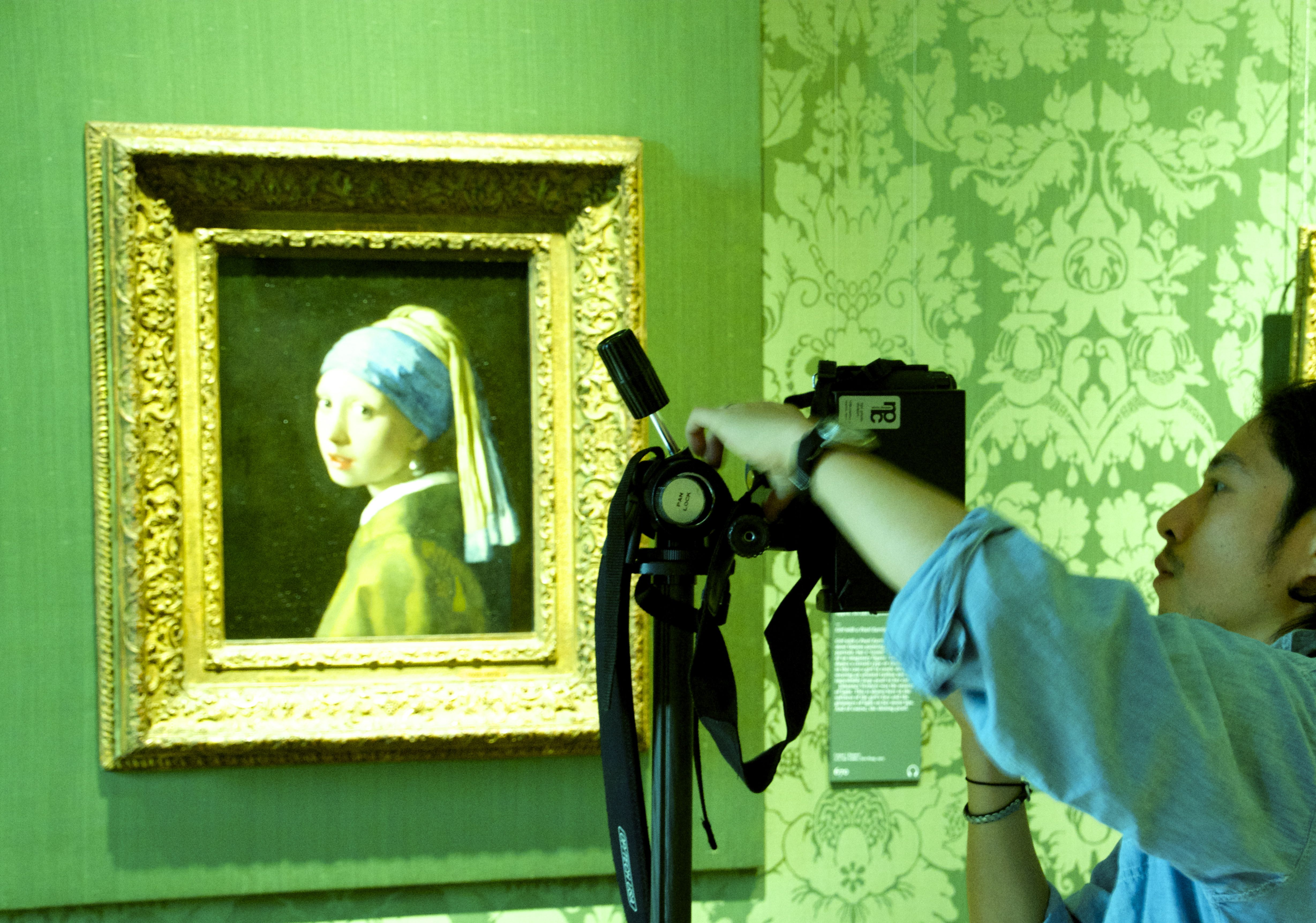 Das Mädchen mit dem Perlenohrring Mauritshuis Johannes Vermeer Den Haag The girl with the pearl earring 25