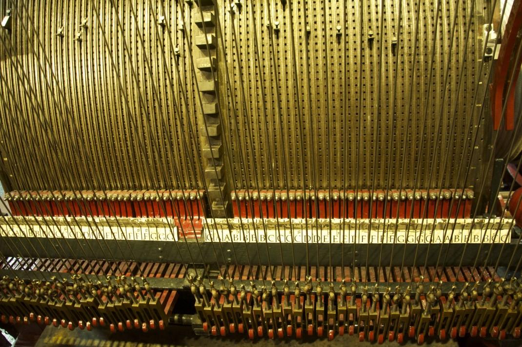 Der Sound des alten Hollands kommt aus dieser Spieluhr