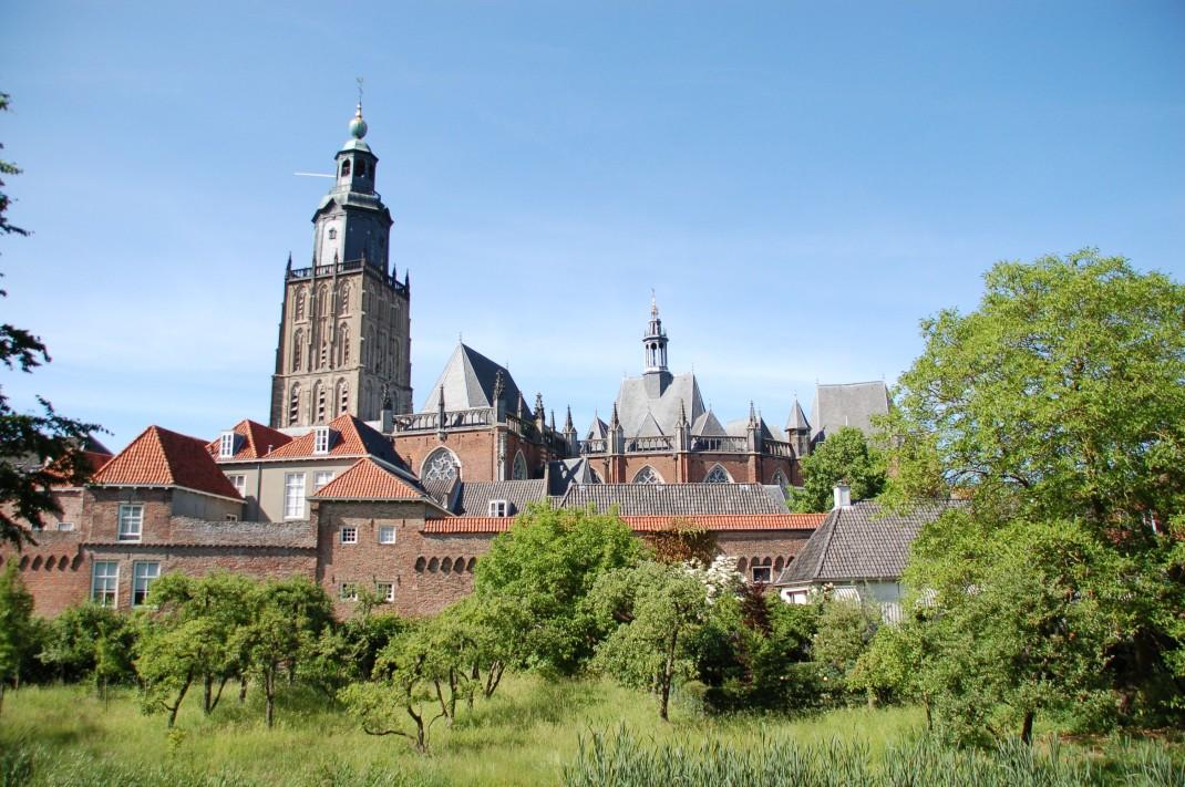 Mittelalterliche Silhouette: Die Hansestadt Zutphen