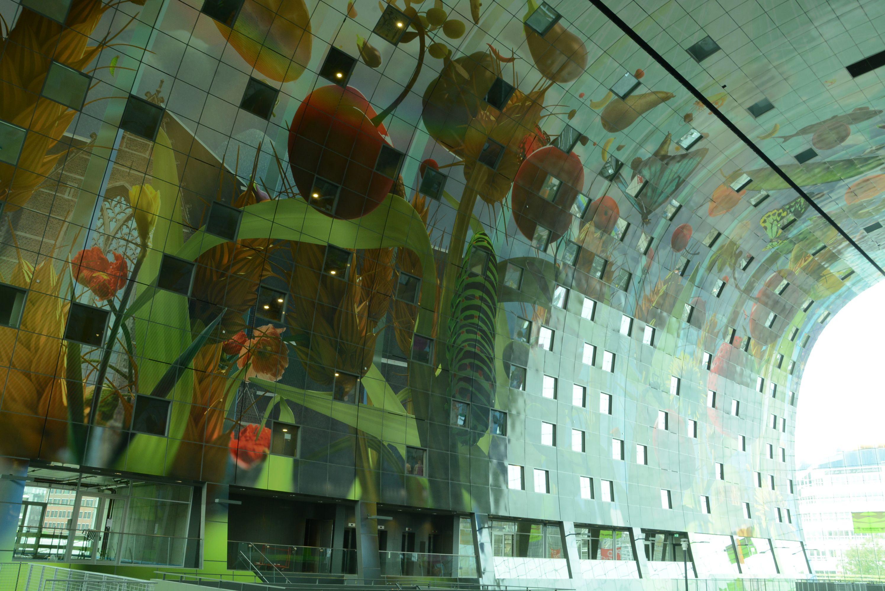 Die Markthalle Von Rotterdam Wiedergeburt Der Event Architektur