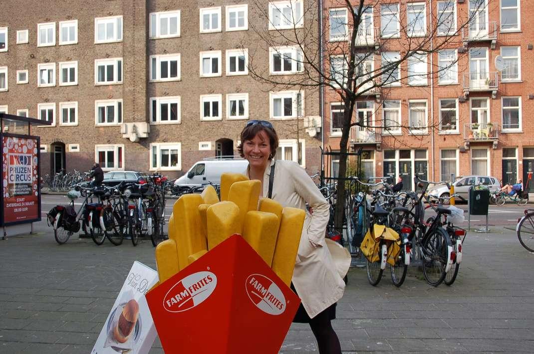 Ist schon ne Weile her: die Autorin während des Austauschs in Amsterdam...