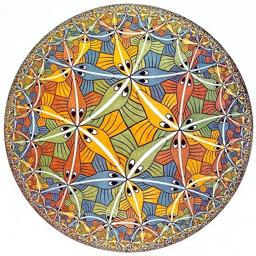 Unmöglich, die Arbeiten von M.C. Escher nachzumalen.