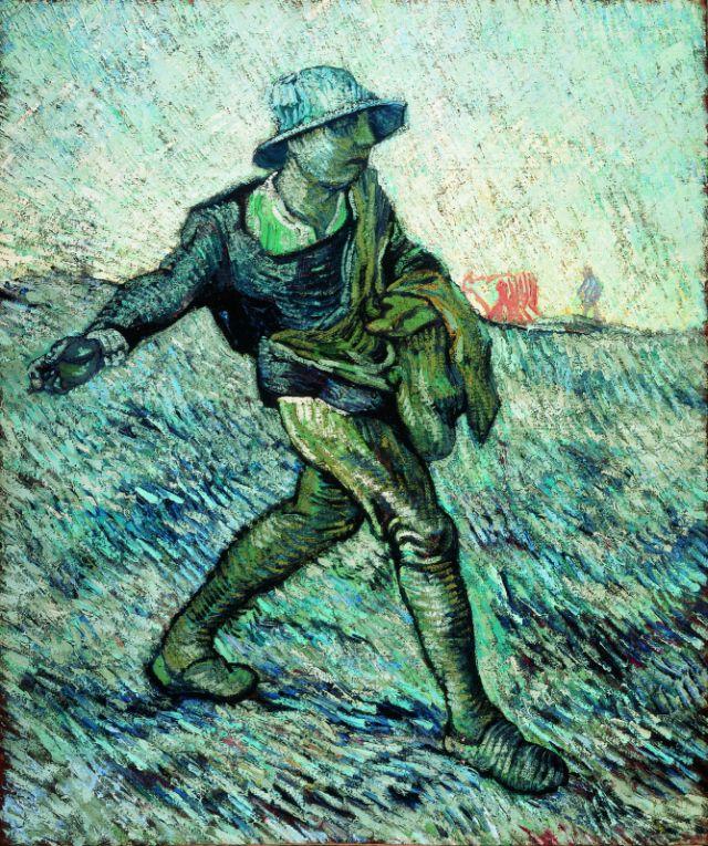 Vincent van Gogh, Der Sämann, 1888_Quelle Van Gogh Museum, Amsterdam