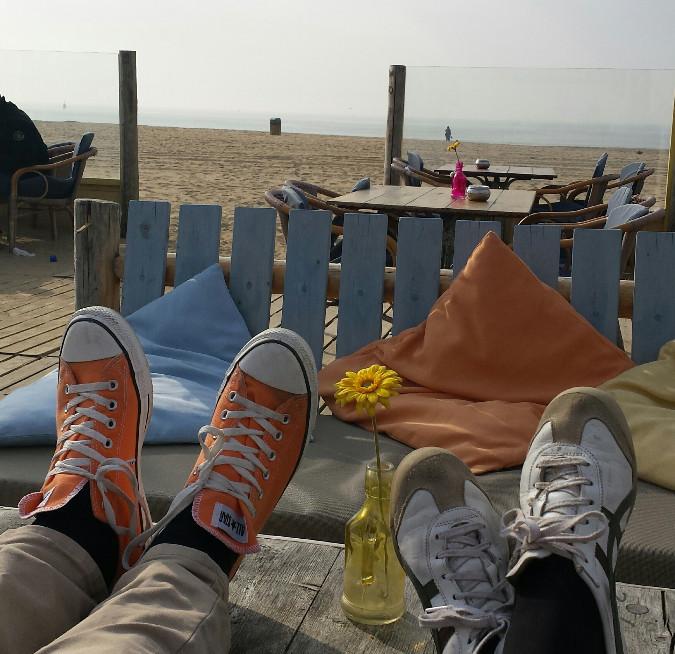 Nur ein paar Meter vom Hotel Andante entfernt liegt die Strandpromenade