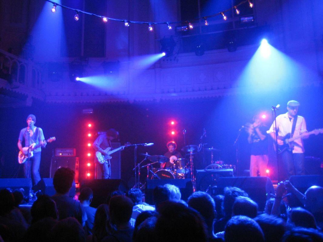 Ein Garant für einen unvergesslichen Konzertabend: Das Paradiso, hier beim Konzert von Pavement
