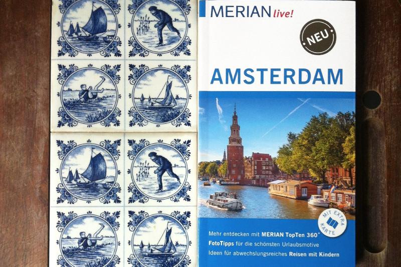 """Mit Liebe geschrieben - und mit viel """"altem Holland"""": Mein Amsterdam-Reiseführer aus der Reihe """"Merian Live"""""""