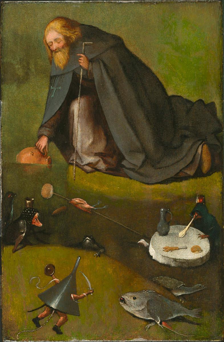 Bosch neu zugeschrieben: Die Versuchung des Heiligen Antonius. Quelle: BRCP
