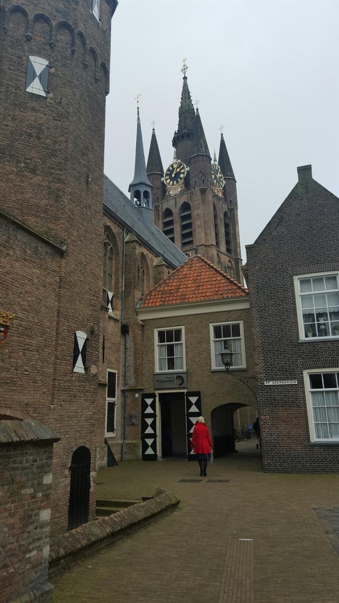 Auch außerhalb des Museums Prinsenhof dreht sich in Delft alles um Vermeer.