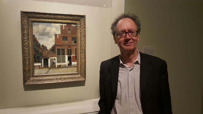 Professor Frans Grijzenhout fand den wahren Standort des Gemäldes in Delft heruas