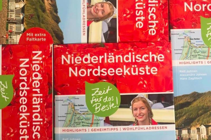 Neuer Reiseführer: Niederländische Nordseeküste von Alexandra und Ralf Johnen