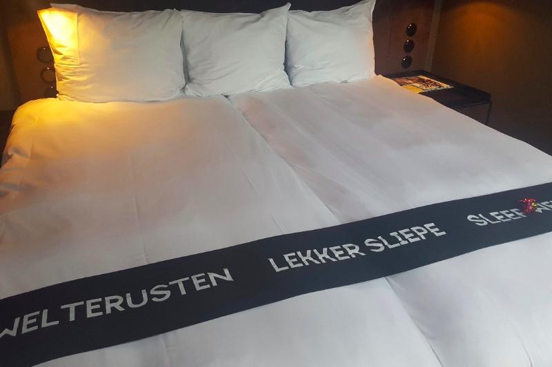 Lekker Sliepe im Post-Plaza Hotel in Leeuwarden. Foto: Frida van Dongen