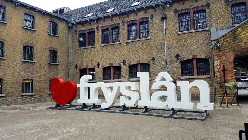 Auf Wiedersehen in der Kulturhauptstadt Leeuwarden-Friesland 2018. Bild: Frida van Dongen